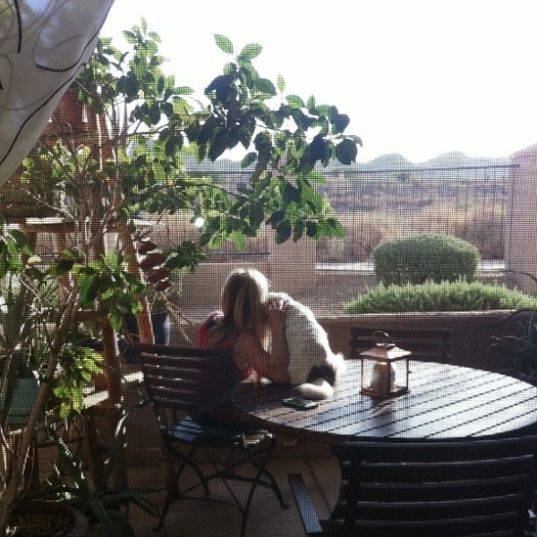 sunrise with Charlee